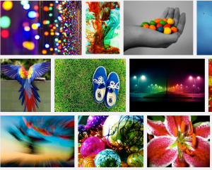 Color Photography Montage